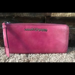 Authentic COACH Limited Edition Poppy Wallet Pink